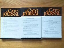 The Cato Journal Complete Volume 8, nos 1-3, 1988-89 James Burnham, Niskanen