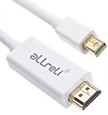 aLLreli 1.8M Mini Display Port DP to HDMI Cable Adapter For iMac MacBook Pro Air