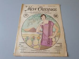 Revue ancienne broderie Mon Ouvrage 1925 N° 65