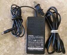 Genuine OEM Toshiba AC Power Supply Adapter PA2450U 15V 3A 45W 6.5mm