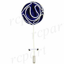 New in box Men's Suit brooch chest brooch royal blue white flower lapel pin