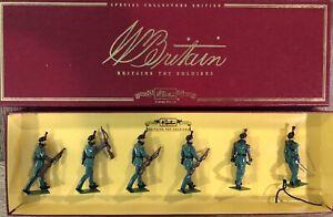 Britains: Boxes Set 00128 - Kings Royal Rifle Corps, c1900. 54mm Metal Models