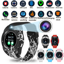bluetooth Smart Watch Touch Screen For Men Women Sport SIM Card For Android iOS