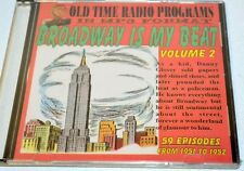 """Old time radio shows-in MP3 format-""""Broadway is my Beat"""" Vol.1-1949-1950"""