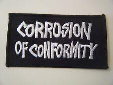 CORROSION OF CONFORMITY PATCH Iron On Down Nola Sludge Stoner Doom Metal NEW