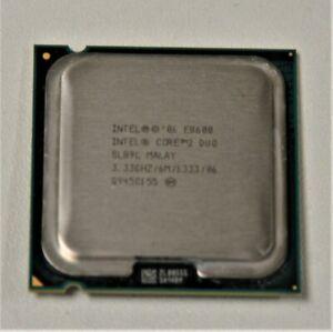 Core 2 Duo E8600 3.33 GHZ 6M 1333 SLB9L LGA775 CPU Only