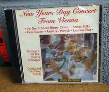 ALFRED SCHOLZ Orchestra of Vienna Volksoper CD New Year's Day 1996 Strauss