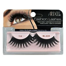 2 Pairs x Ardell Natural Lashes #114 False Eyelashes Fake Lash Eyelash Black