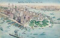 NEW YORK CITY – Lower New York Birdseye View