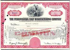 1957 Share certificato per la Pennsylvania SALE Manufacturing Company