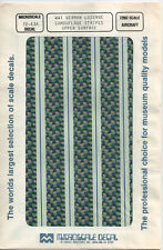 1/72 MicroScale Decal German Lozenge Camouflage 4 Color Day Upper Surface 72-43A