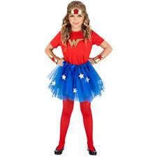 Superman l/'alba di giustizia WONDER WOMAN Kids Costume BAMBINO Batman