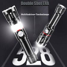 1000 Lumens zoombar XHP70 XHP90 LED Flashlight wiederaufladbar Taschenlampe DE