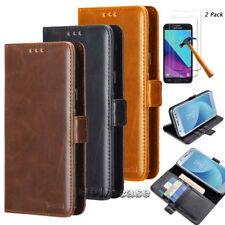 For Samsung Galaxy J3 2018/J3 V 3rd Gen/J3 Achieve/Amp Prime 3 Wallet Card Case