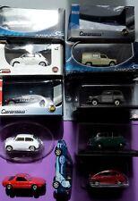lot FIAT 1/43 500 600 multipla taxi milano  belvedere x 1/9 seat formichetta