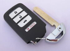 OEM HONDA ACCORD CIVIC smart keyless remote fob transmitter DRIVER 1 + BLANK KEY