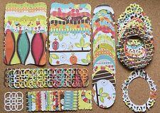 80 Piece Sizzix Stampin UpTop Note, Frame & Tag Set w/Glitter