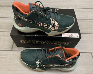 Nike Zoom Freak 2 Basketball Shoes Pistachio Green Giannis DC9853-300 Sz 12