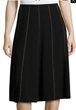 NWT MICHAEL Michael Kors Studded Flare Skirt. Size 12. $195.00