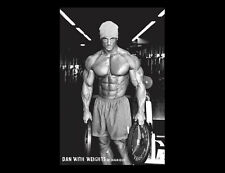 DAN WITH WEIGHTS Hot Workout Fitness Gym Weightlifter WALL POSTER