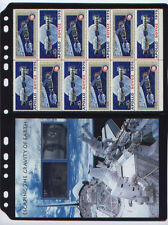 ANCHOR 100 Stock Pages 2S (2-rows) - black stock sheets for Canada FDCs, Covers.