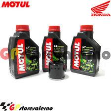 TAGLIANDO OLIO + FILTRO MOTUL 5100 10W30 HONDA 400 CB SUPER FOUR 2000