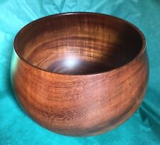 SEPP KOCH HONOLULU HAWAIIAN KOA WOOD BOWL