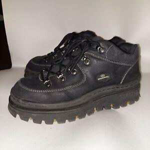 Vintage 90s Skechers Jammers Platform Boots Black Women's 9.5 EUC