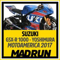 Kit Adesivi Suzuki GSX-R 1000 Motoamerica Yoshimura  2017 - High Quality Decals