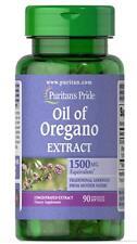 Puritan's Pride Oil of Oregano Extract 1500 mg  90 Softgels