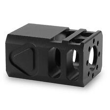 TBC 9mm Glock Pistol Micro Compensator Muzzle Brake Glock 19 1/2 x 28 thread