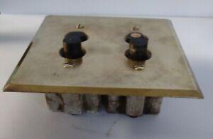 Antique Brass Light Switch Plate