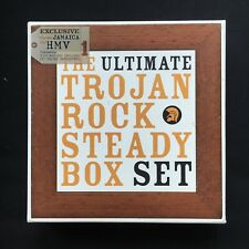 TROJAN Ultimate ROCK STEADY 450 TRACKS BOX SET ELLIS ETHIOPIANS PERRY 9 x CD