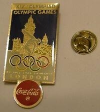 Pins coca cola Olympics LONDON 1948 XIVth OLYMPIAD