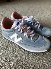 New Balance for J.Crew 620 CW620JL3 Dusty Blue/Peach Sneakers - Size 7 Womens