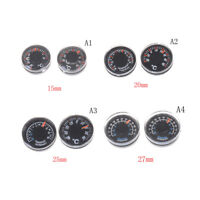1PCS Round Plastic Thermometer 15mm 20mm 25mm 2 Cl MEHV