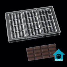 Mold Chocolate Baking Clear Polycarbonate Plastic Hard Mould Cake Pastry Kitchen