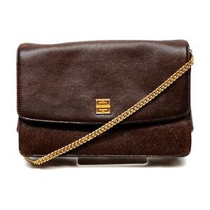 GIVENCHY Shoulder Bag  Browns Leather 1536725
