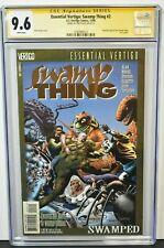 Essential Vertigo: Swamp Thing #2 1996 CGC 9.6 Signed Tom Yeates DC Comics