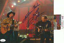 GARTH BROOKS Signed Autograph 8X10 Live Country Music Grand Ol Opry JSA COA