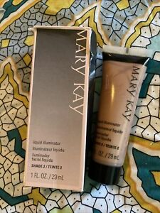 MARY KAY Liquid Illuminator ~ SHADE 2 ~ 034229 ~ Discontinued ~ NOS/NIB ~ QTY 1