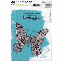 Carabelle Studio SA50010E A5 Cling Stamp - Spread Your Wings by B. Koopsen