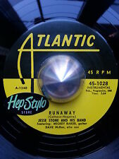 JESSE STONE/ JIMMY LEWIS 45 RE- MICKEY BAKER ATLANTIC 50s RHYTHM & BLUES 2 SIDES