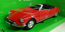 Nex 1/24 Scale 22506W Citroen DS 19 Cabriolet Red Diecast model car