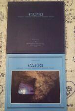 LIBRO FOTOGRAFIA CAPRI PASSAGGI DI CARMINE FIORE EDIZ LA CONCHIGLIA 1998