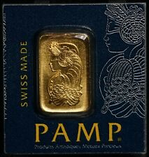 Pamp Suisse 9999 Ag PURE Gold 1g One Gram SEALED Bar - 1