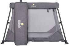 LittleLife Featherlite Travel Cot, Grey 3kg