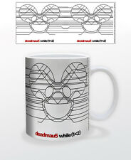 DEADMAU5- WHILE 11 OZ COFFEE MUG TEA CUP MUSIC DJ PRODUCER HOUSE ELECTRONIC MASK