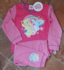 New girl 100% cotton My Little Pony pajamas pink 18-24 months