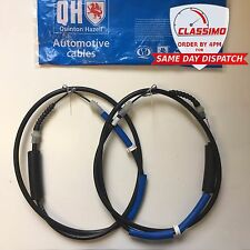 Rear Handbrake Cable Pair for FORD MONDEO MK3 (Not Estate) - 2000 to 2007 - QH